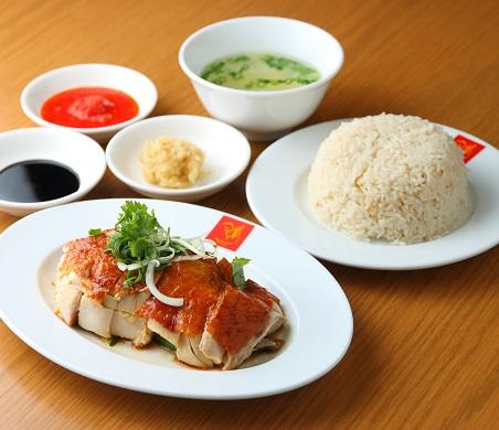 ローストチキンライス/香り米・スープ付【1人前】