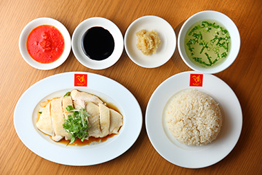 シンガポール チキン ライス ソース